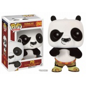 Funko POP! Movies - Kung Fu Panda: Po Flocked - Vinyl Figure 10cm limited edition