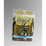Dragon Shield Standard Sleeves - Gold (50 Sleeves)