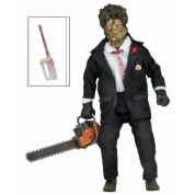 Texas Chainsaw Massacre Part 2 - Leatherface Clothed Doll Action Figure 20cm