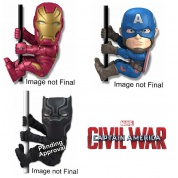 Scalers Captain America Civil War Mini-Figuren 5cm Assortment (48)