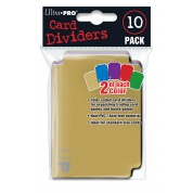 UP - Card Dividers (10 Pack)