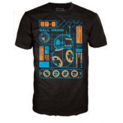 Funko POP! Tees - Star Wars: BB-8 Blueprint (XXL)