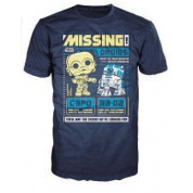 Funko POP! Tees - Star Wars: C-3PO & R2-D2 (S)