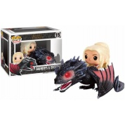 Funko POP Rides! - Game Of Thrones Daenerys & Drogon Vinyl Figure Set 12cm/20cm long