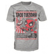 Funko POP! Tees - Deadpool Taco Tuesday (XXL)