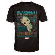 Funko POP! Tees - Guardians Of The Galaxy Groot (L)