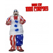 House Of 1000 Corpses Captain Spaulding Clothed Action Figure 18cm