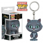 Funko Pocket POP! Disney Keychain - Alice through the Looking Glass: Chessur - Vinyl Figure 4cm